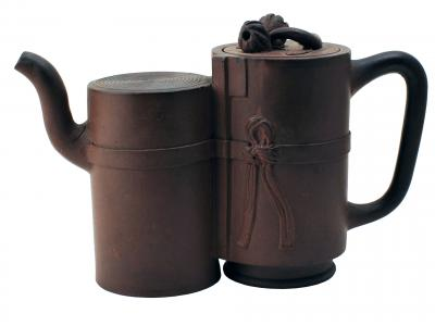 Double Cylinder Yixing Teapot