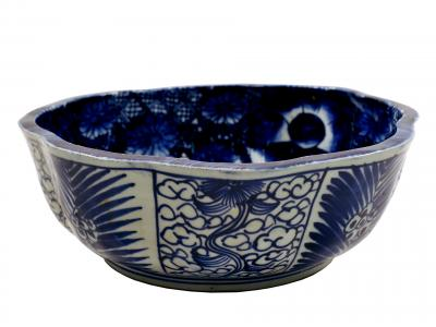 Japanese Blue & White Bowl