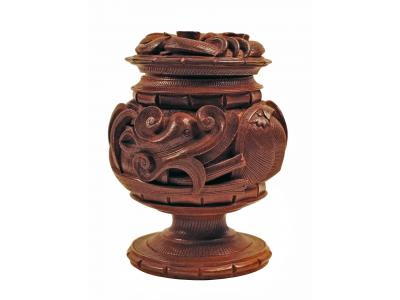 Wood Dragon Cup