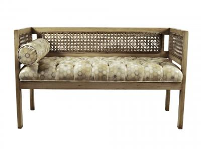 American Upholstered Bench
